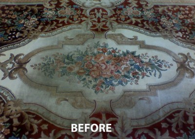 Rug Before Cleaning